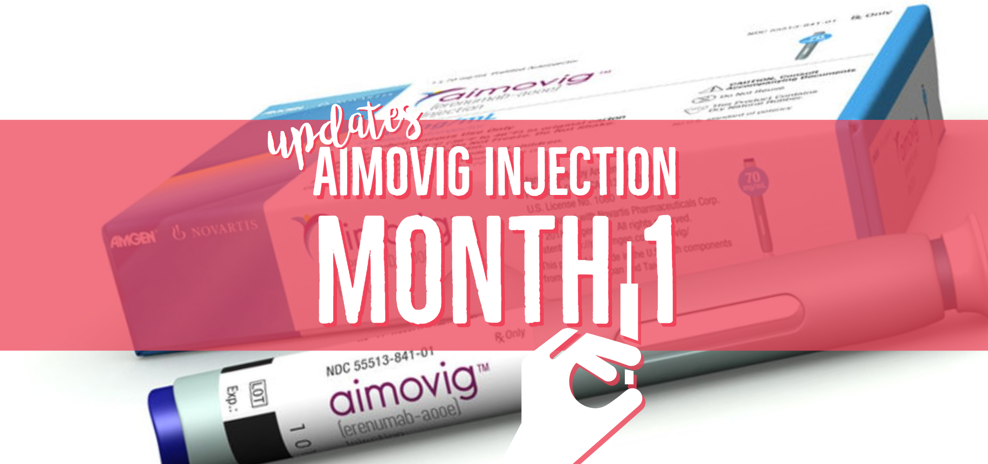 How Aimovig Is Working For My Migraine: A Weekly Update